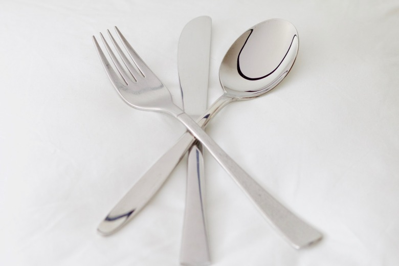 eating utensil etiquette american european